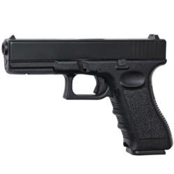 Pistolet Mitrailleur Micro UZI noir Softair, unscope-airsoft
